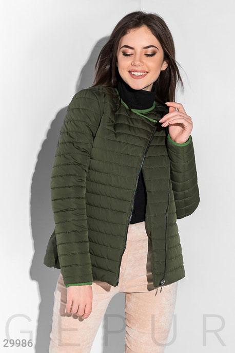 Утепленная куртка в стиле милитари GEPUR