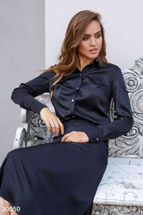 Купить Блузы, рубашки, Женская классическая блуза, Блуза-30050, GEPUR, черный