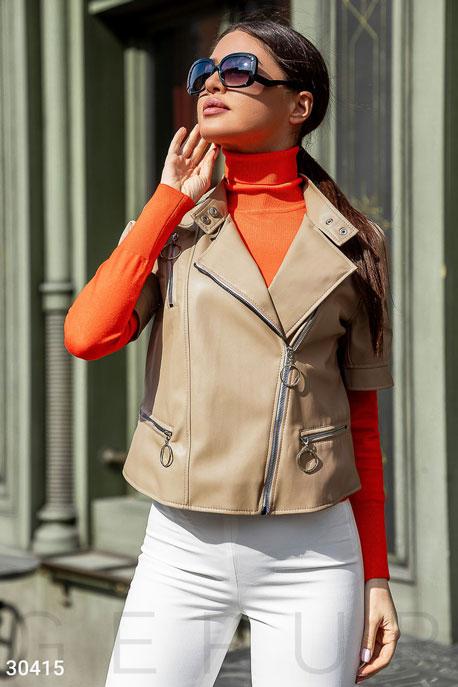 Актуальная куртка-косуха GEPUR