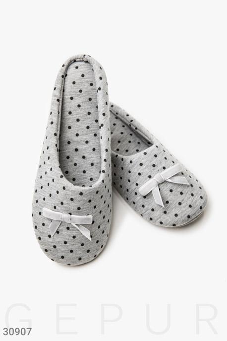 Купить Одежда для дома / Обувь, Комфортные тапочки-слиперы, Тапочки-30907, GEPUR, серый