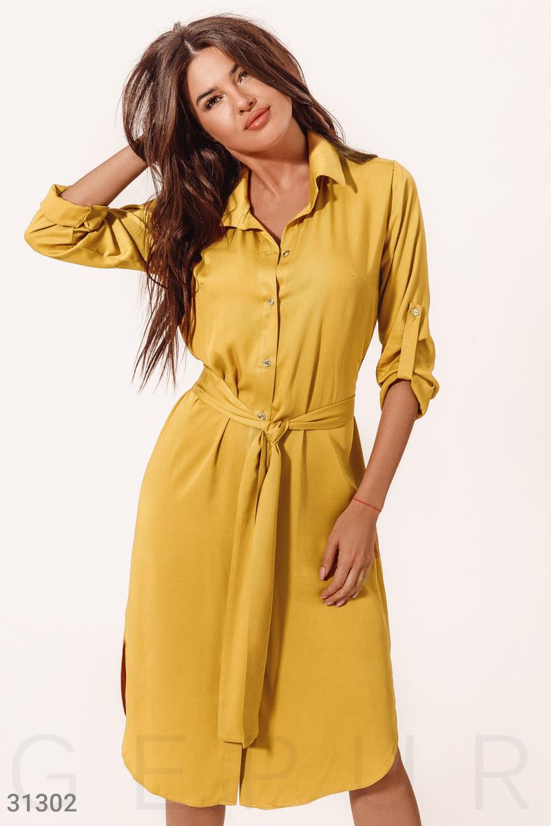 Легкое платье-рубашка31302