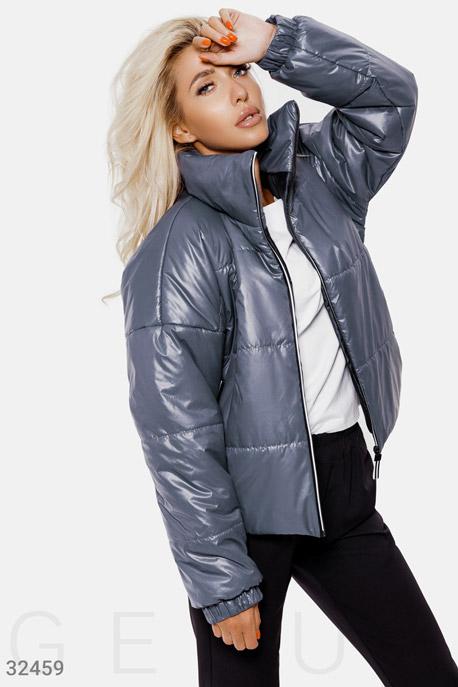 Стеганая куртка-oversize