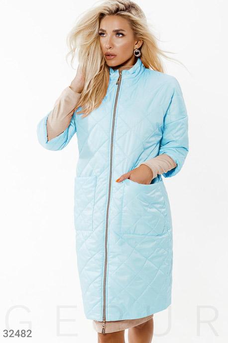 Куртка небесно-голубого цвета
