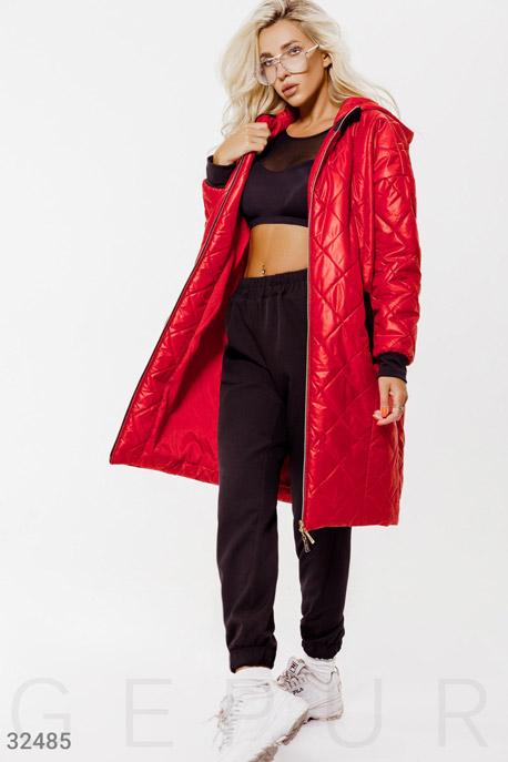 Куртка свободного кроя