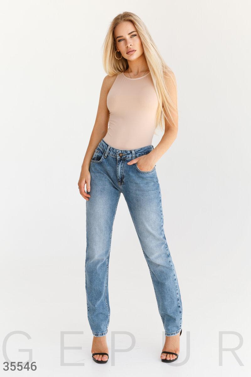 Классические джинсы прямого кроя boyfriend 40$