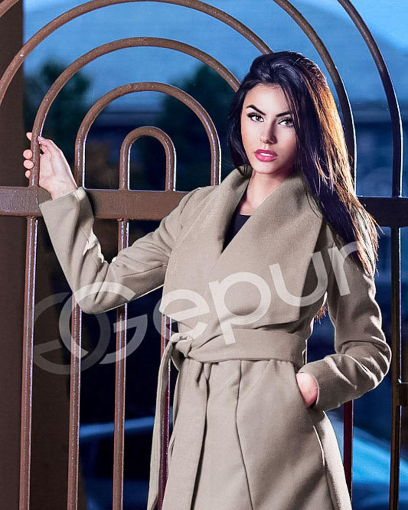 Купить Verhnyaya-odezhda_palto_kashemirovye-palto, Кашемировое пальто-халат, Gepur