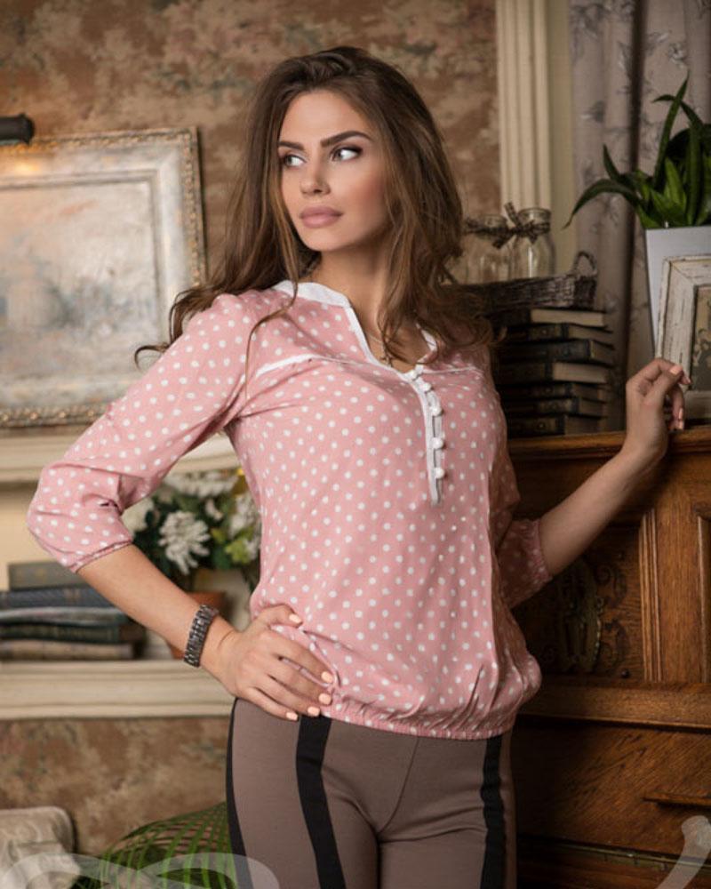 Ніжна бавовняна блуза от Gepur