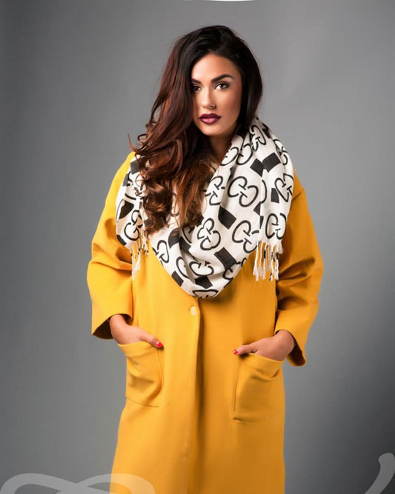 Фото - Яркое пальто oversize