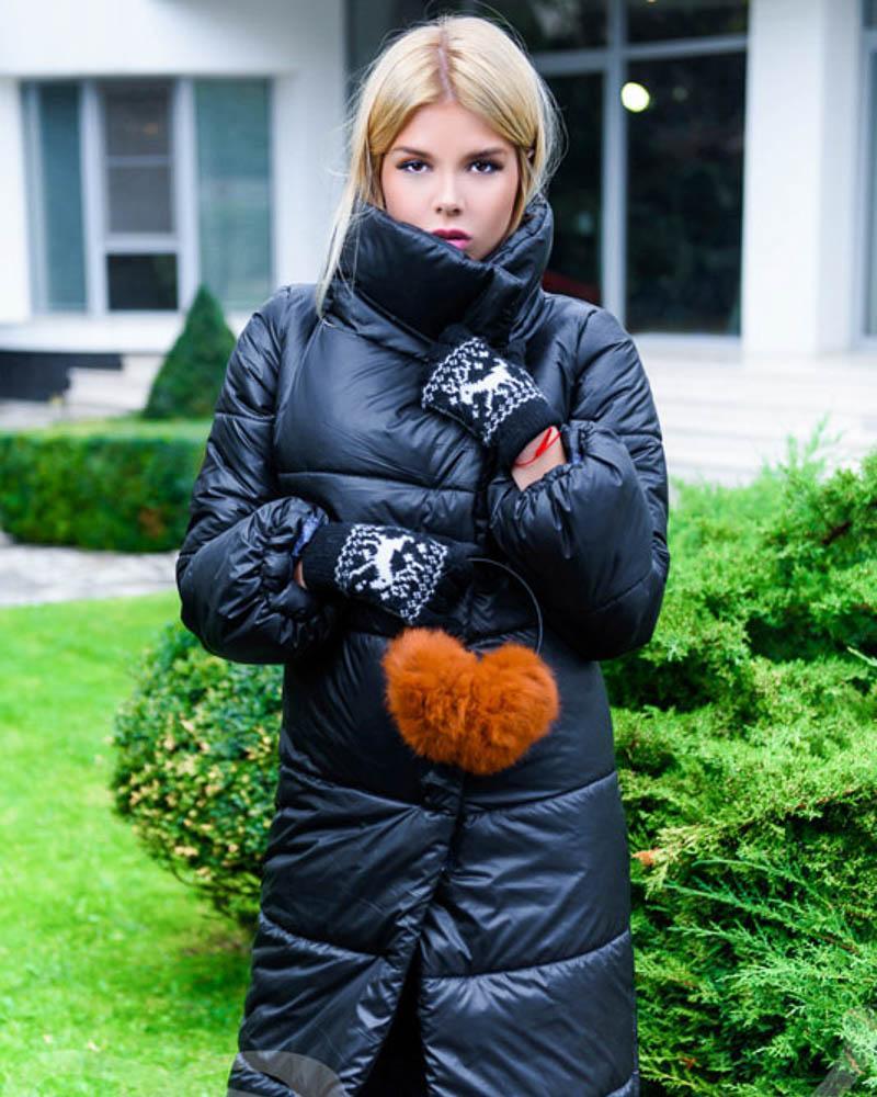 Купить Verhnyaya-odezhda_palto_palto-na-sintepone, Объемное стеганое пальто, Gepur