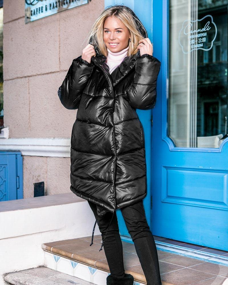 Фото - Теплое стеганое пальто