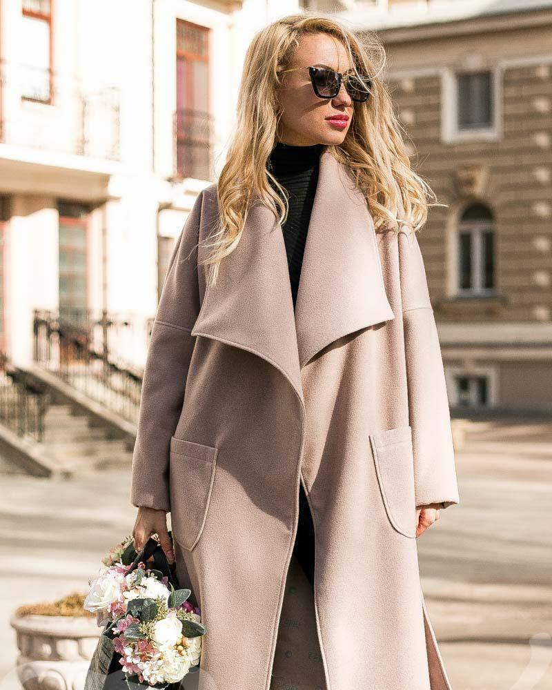 Купить Verhnyaya-odezhda_palto_kashemirovye-palto, Приталенное кашемировое пальто, Gepur
