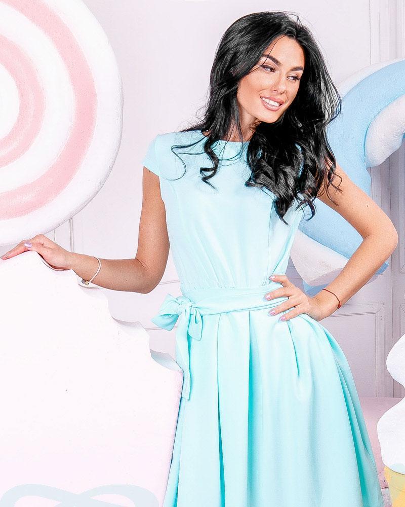 Купить Platya_platya-midi, Лаконичное расклешенное платье, Gepur