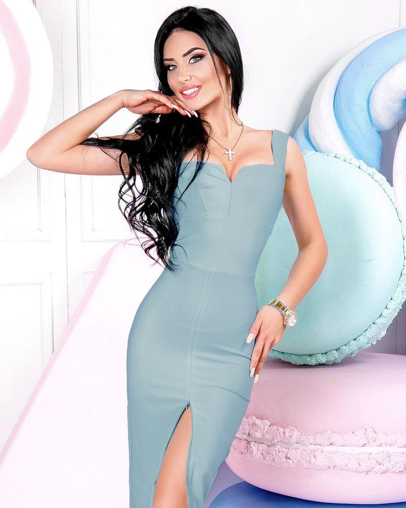 Элегантное платье-футляр фото