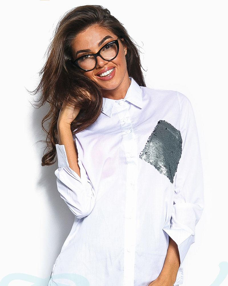 Рубашка с декором