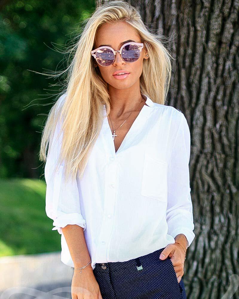 Купить Bluzy-rubashki_bluzy-rubashki-bolshie-razmery, Свободная блуза, Gepur