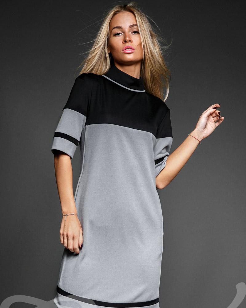 Фото - Стильное платье-миди