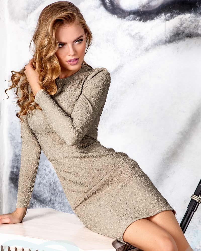 Трикотажне плаття-футляр от Gepur