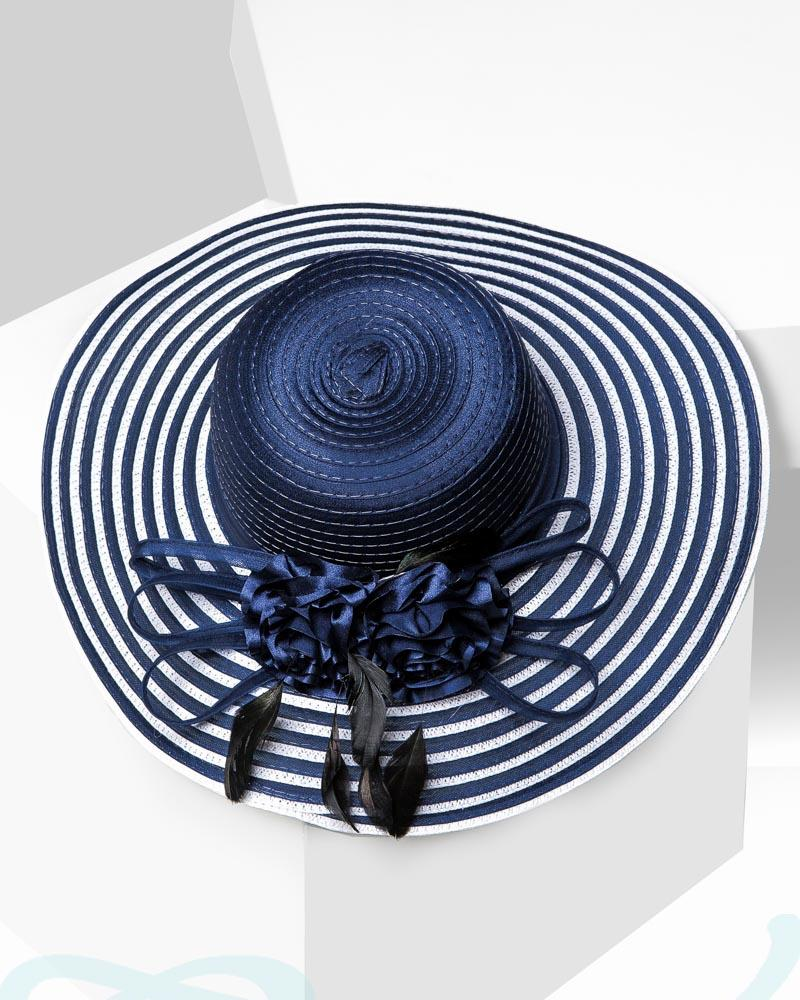 Шляпа с декором фото