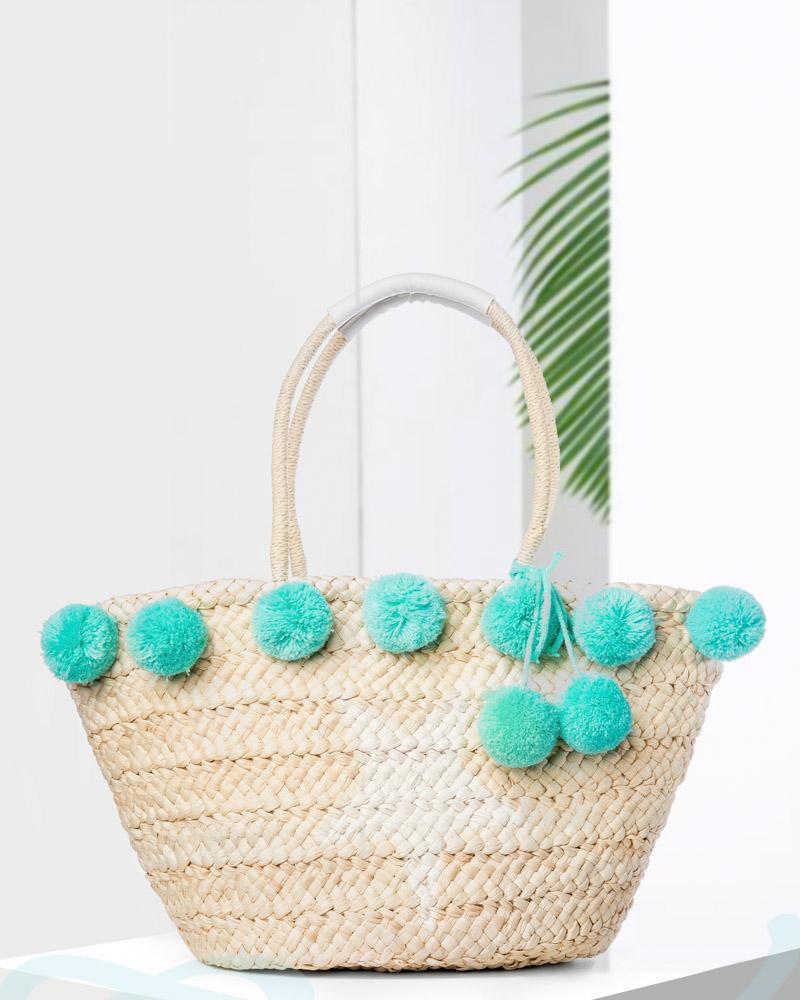 Річна солом'яна сумка от Gepur