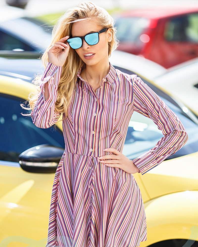 Повсякденне плаття в смужку от Gepur