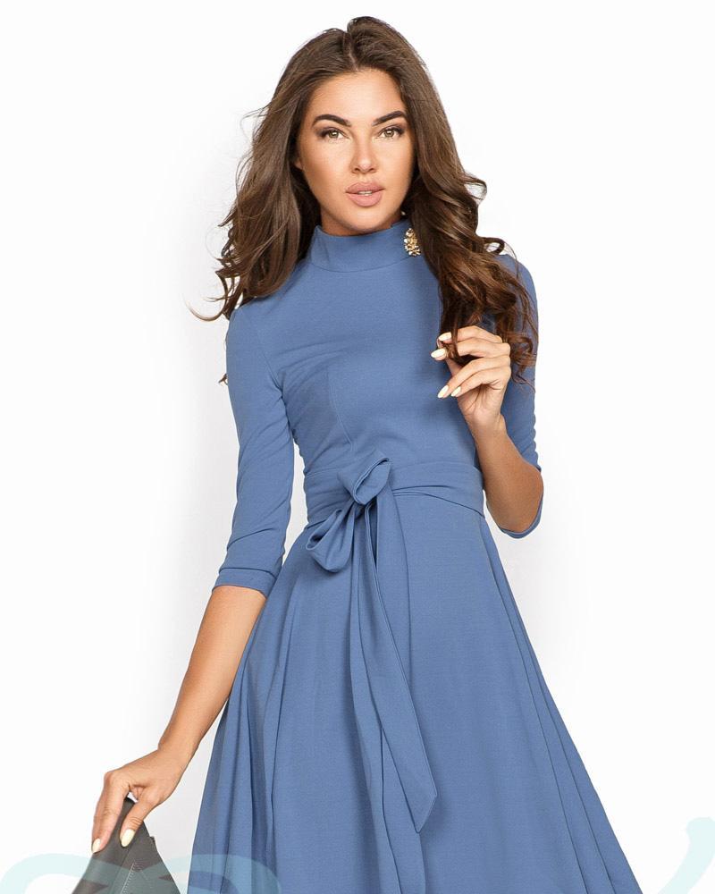 Platya_platya-midi, Лаконичное платье А-силуэта, Gepur  - купить со скидкой
