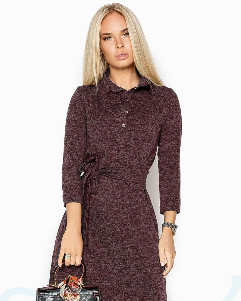 Ангоровое платье-рубашка фото