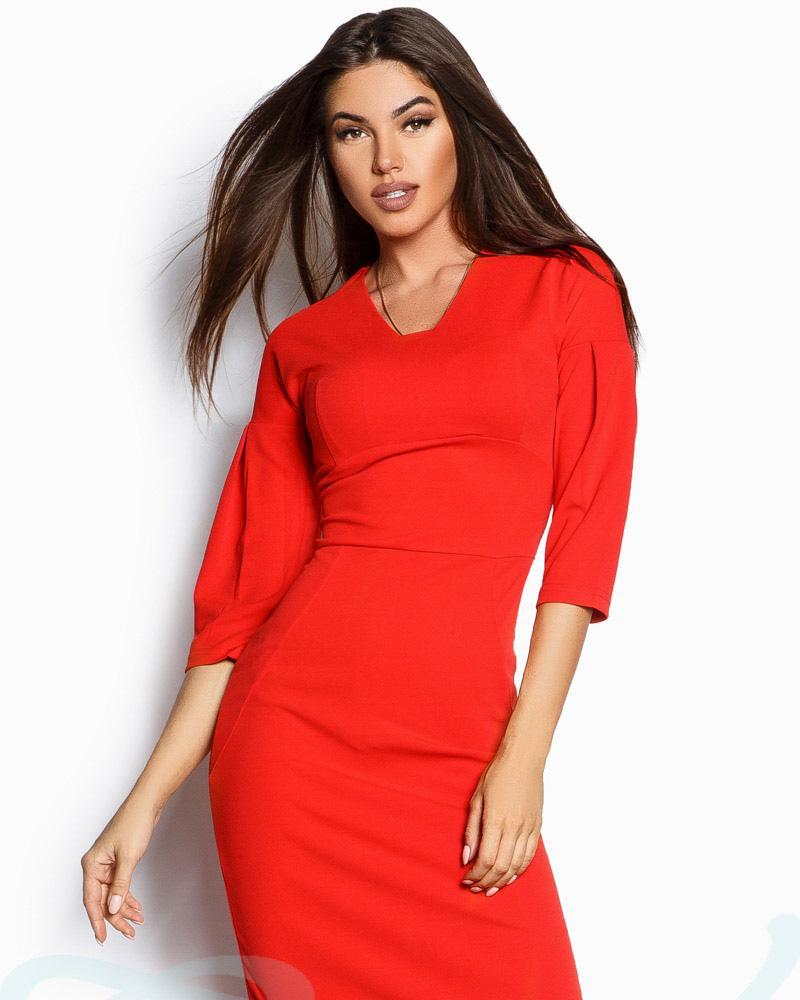 Купить Platya_platya-bolshih-razmerov, Облегающее креповое платье, Gepur