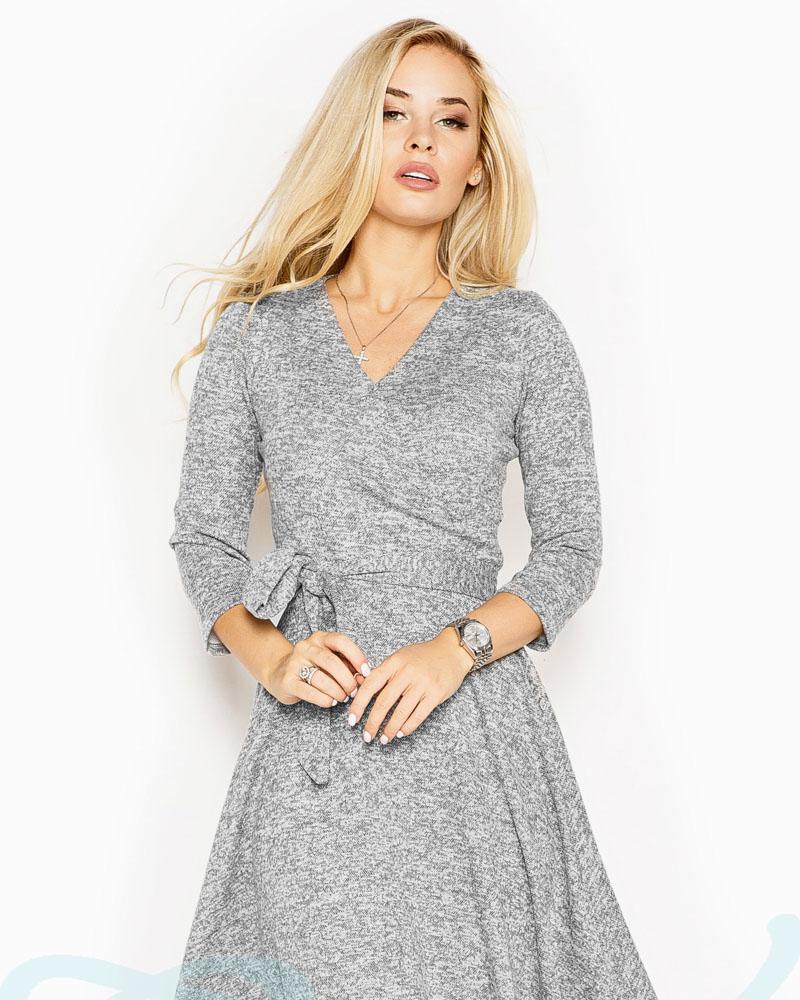Теплое пышное платье фото