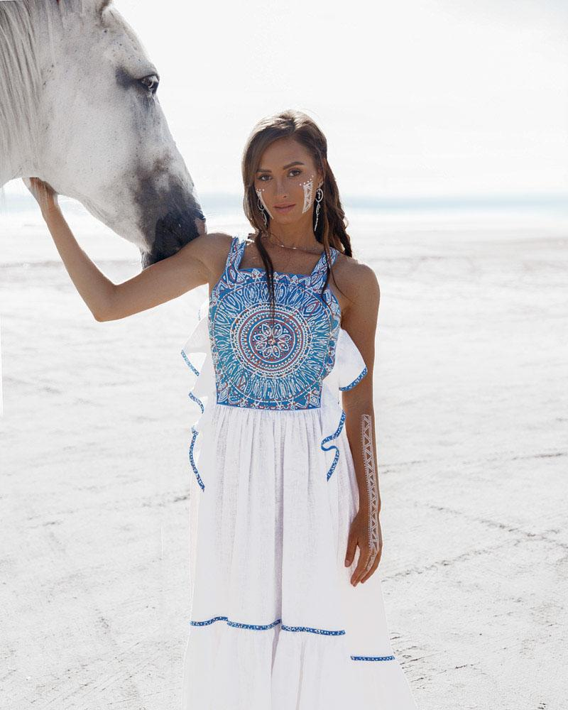 Этно-платье Sadovskaya фото