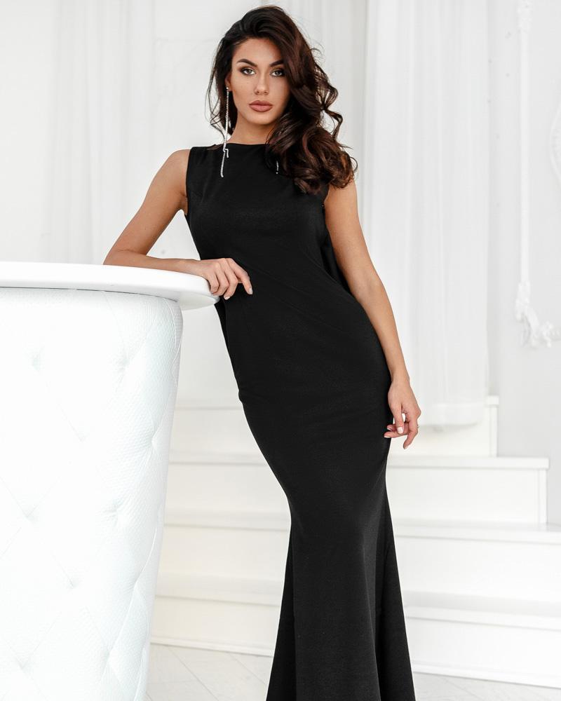 Вечернее платье-годе фото