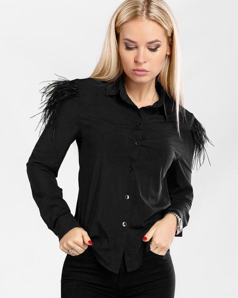 Блуза с декором фото