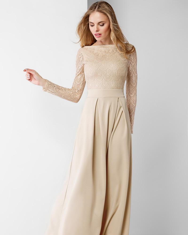 Изумительное длинное платье фото