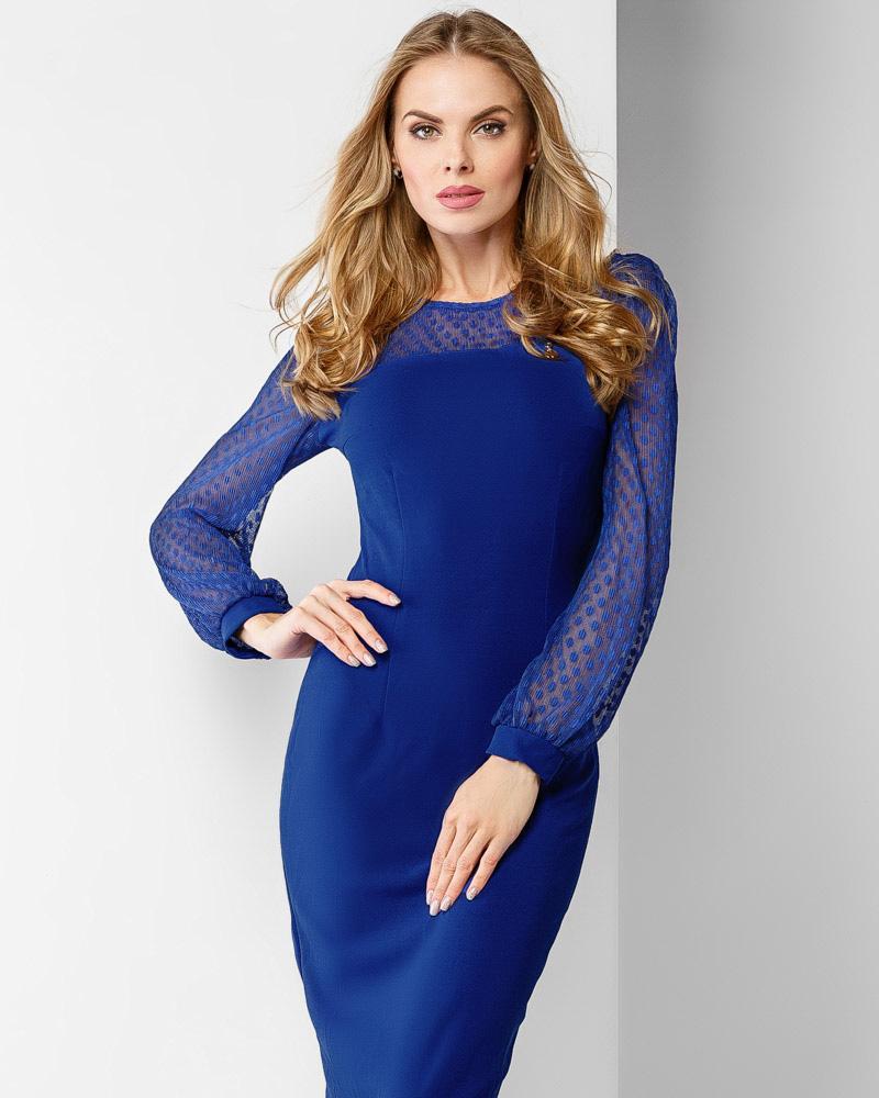 Выразительное коктейльное платье фото