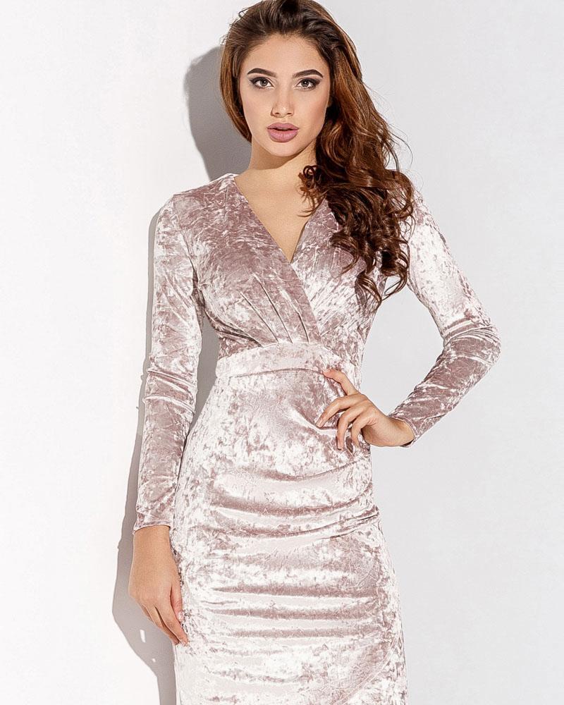 Мраморное платье-футляр