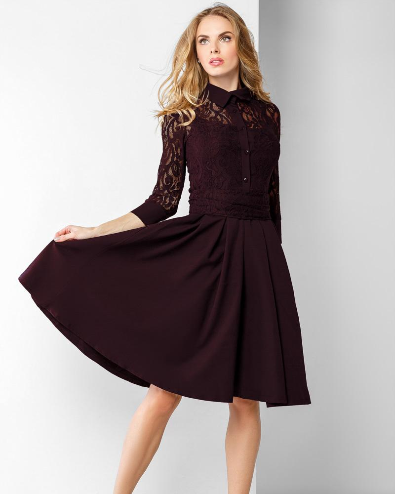Купить Platya_platya-bolshih-razmerov, Платье А-силуэта, Gepur