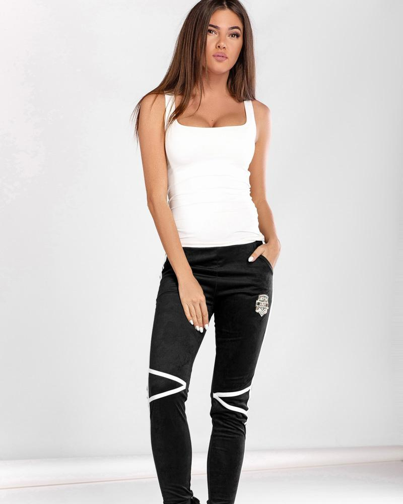Замшевые брюки фото