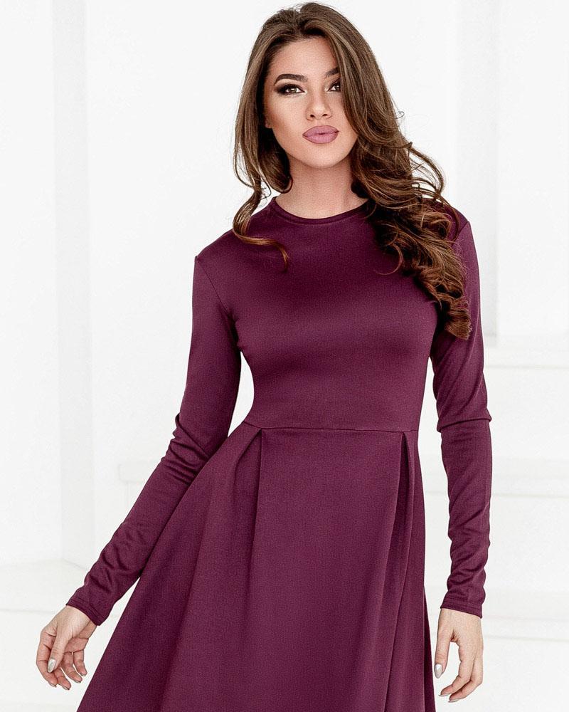 Короткое асимметричное платье фото