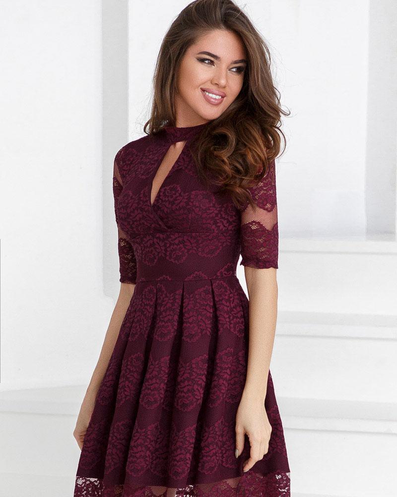 Платье со складками фото