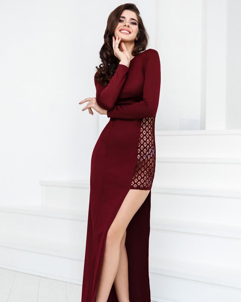 Откровенное вечернее платье фото