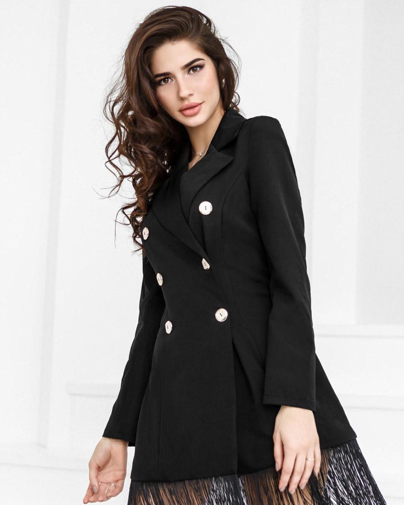 Трендовое платье-пиджак фото