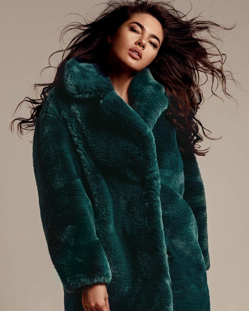 Меховое пальто Gepur