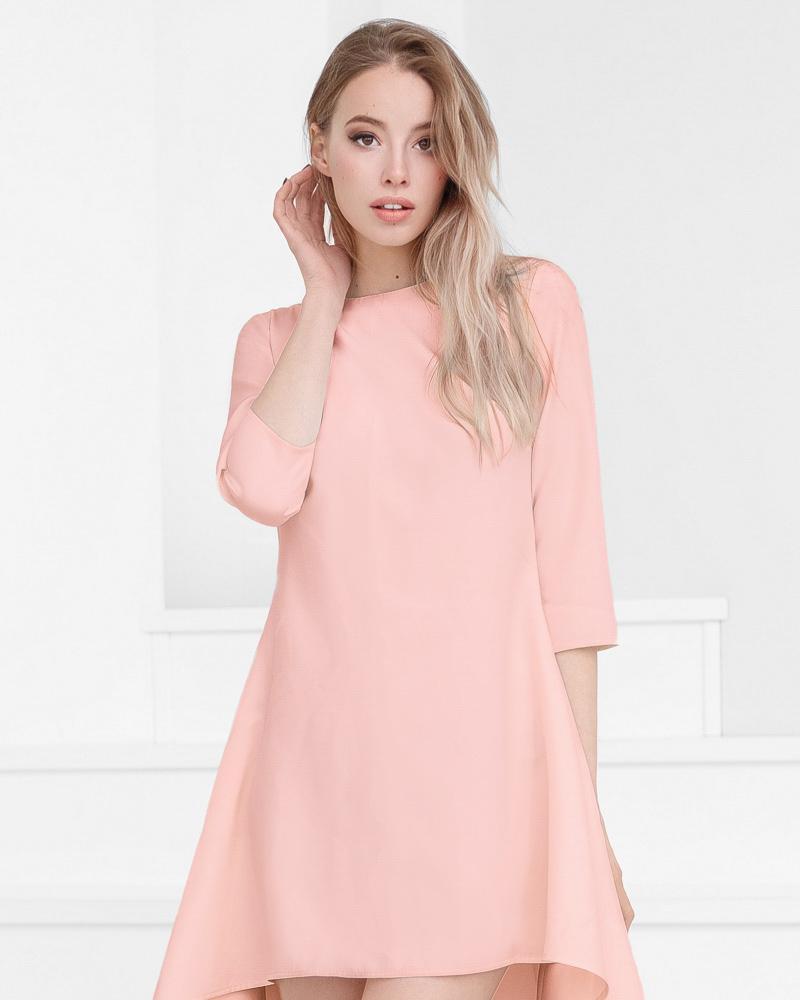 Лаконичное платье-клеш