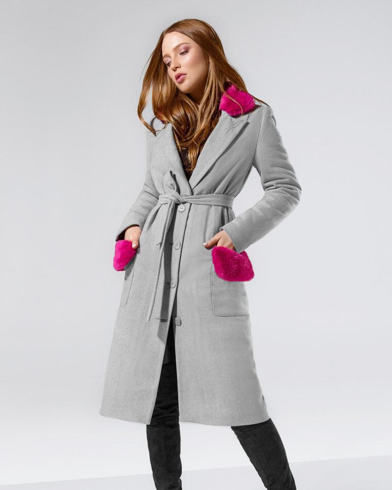 Стильне демісезонне пальто от Gepur