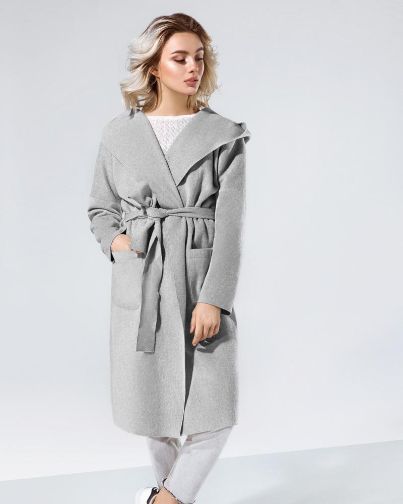 Легке пальто-кардиган от Gepur