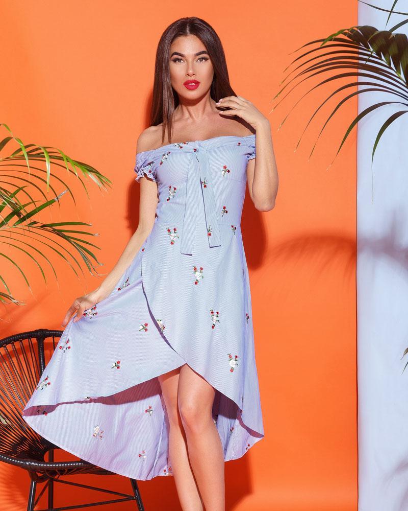 Романтичное летнее платье фото