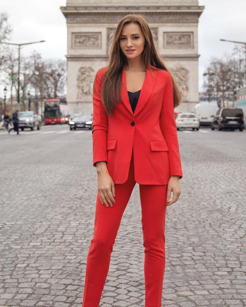 Жіночий піджак однобортний от Gepur