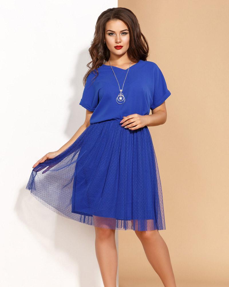Купить Platya_platya-bolshih-razmerov, Воздушное летнее платье, Gepur