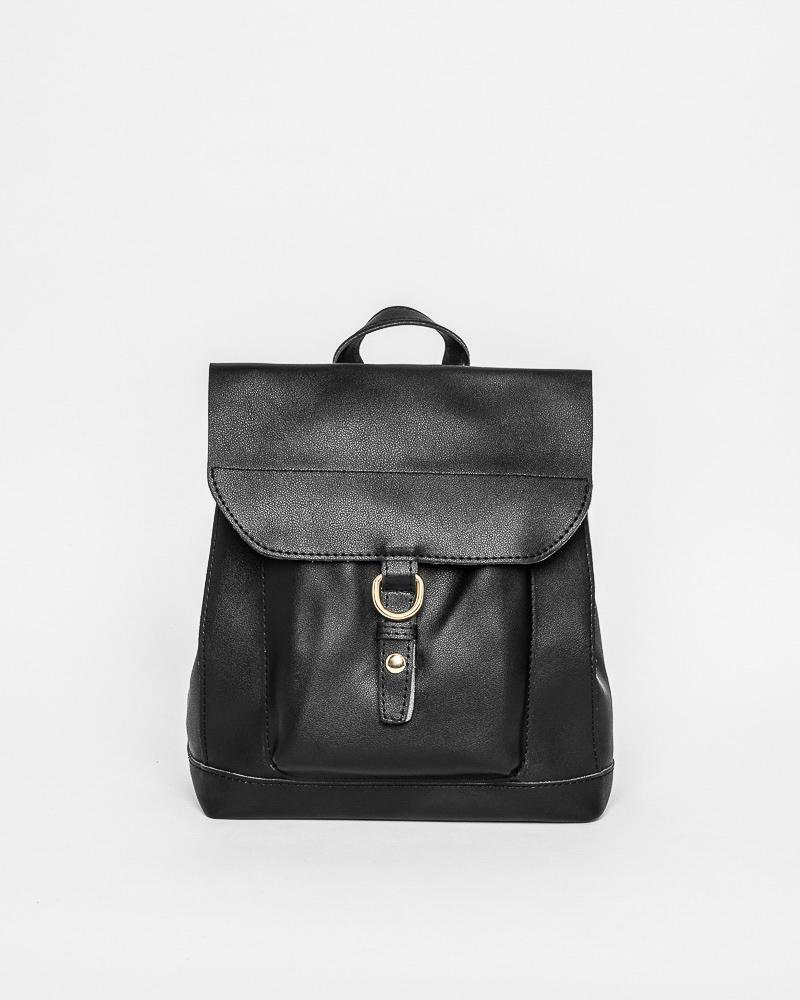 Кожаный рюкзак-сумка