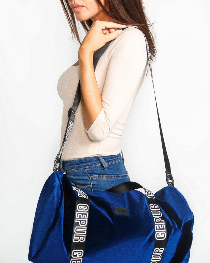 Купить Sportivnaya-odezhdapr_sportivnye-sumkipr, Бархатная спортивная сумка, Gepur