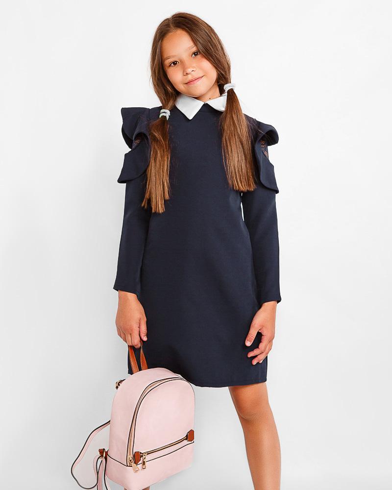 Оригинальное школьное платье фото
